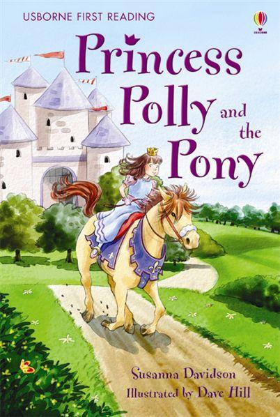 """""""Princess Polly and the Pony"""" Cześc kolejną książką o której postanowiłam wam opowiedzieć to książka pod tytułem """"Princess Polly and the Pony"""". Książka ta opowiada o księżniczce, która uwielbiała jeżdzić konno. Księżniczka ta miała na imię Poly. Jednak pewnego dnia Polly miała kłopoty. Po jeździe konnej wróciła do zamku cała ubłocona. Król i królowa nie byli zadowoleni z wyglądu swej córki, dlatego też zakazali jej jeździć konno. Zanudzona Polly uznała, że nic nie może robić. Jej rodzice odparli, że może robić dużo innych rzeczy naprzykład przymierzać swoje tiary byle tylko nie jeździła konno. Wtedy też król wymyślił dla Polly zajęcie. Król powiedział, że pokaże jej swoje korony po czym zaprowadził ją do królewskiej wieży. Po drodze Polly zauważyła plakat, który informował o wyścigu konnym, w którym trzeba było się przebrać. Księzniczka powiedziała, że chciałaby wziąć w nim udział. Król odpowiedział, że on i mama księżniczki będą wręczać nagrodę za pierwsze miejsce i oczywiście Polly nie może tam być. Jednak Polly pomyślała, że skoro to wyścig przebierańców to dlaczego nie mogłaby wziąc w nim udziału. W dniu wyścigu Polly po prostu wyskoczyła z łóżka i założyła swe przebranie po czym przebrał też konia i ruszyła na truskawkowe wzgórze, gdzie miał się odbyć wyścig. Gdy wyścig się zaczął wszyscy po kolei wpadali o błota oprócz Polly, dlatego też Polly wygrała. Polly chociaż się upierała, że nie chce zdjąć stroju królowa na siłę zdjeła jej maskę. Gdy wszyscy zobaczyli twarz Polly bardzo się zdziwili po czym wszyscy zaczęli wiwtować na cześć wygranej księżniczki Polly. Wszyscy oprócz rodziców księżniczki, którzy zaczęli na nią krzyczeć. Gdy wszyscy się uspokoili Polly powiedziała rodzicom, że wygrała ten wyścig więc muszą jej dać zasłużoną nagrodę. Król i królowa zapytali się jej więc co by chciała, a Polly odpowiedziała, że jednego dnia każdego tygodnia chciałaby móc jeżdzić konno i wracać do zamku cała ubłocona. Jej rodzice według zasad zgodzili się, więc Polly wrócił"""